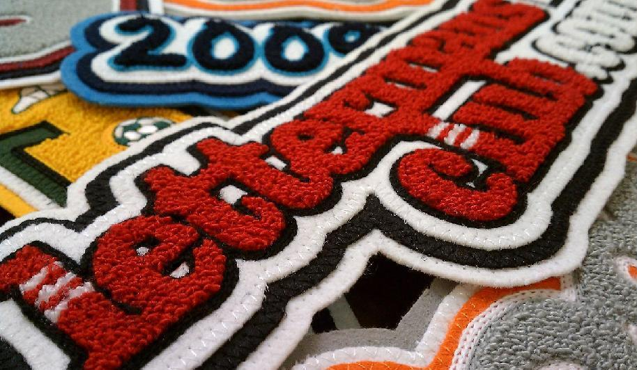 Chenille and Felt Patches - Personalized Patches |Customize Patches Made