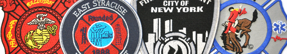 Fire & Rescue Patches - Personalized Patches |Customize