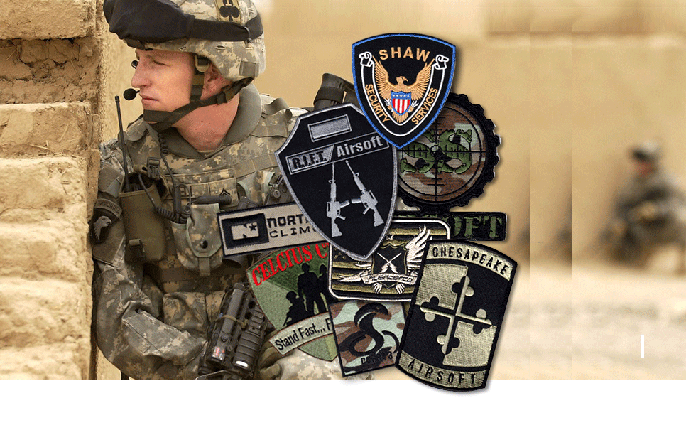 military patches - Personalized Patches |Customize Patches Made