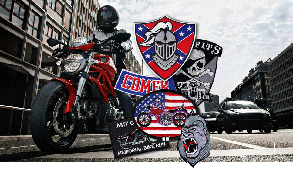 Motorcycle & Biker Patches